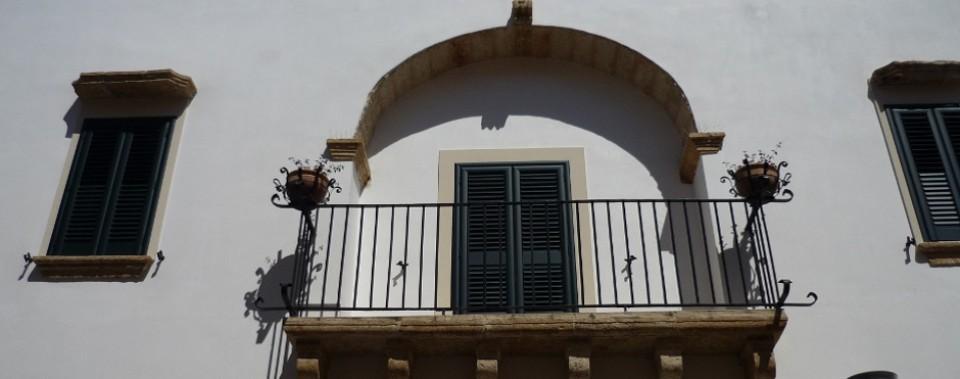 La nostra antichissima balconata...